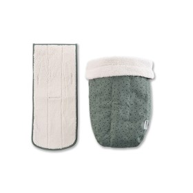 Croozer Winter kit for Baby seat from 2018, Jungle green/b